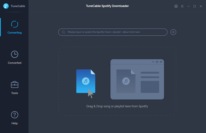 Launch Spotify downloader and login to Spotify